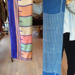 A Piece Treaty Silk Scarves, $65