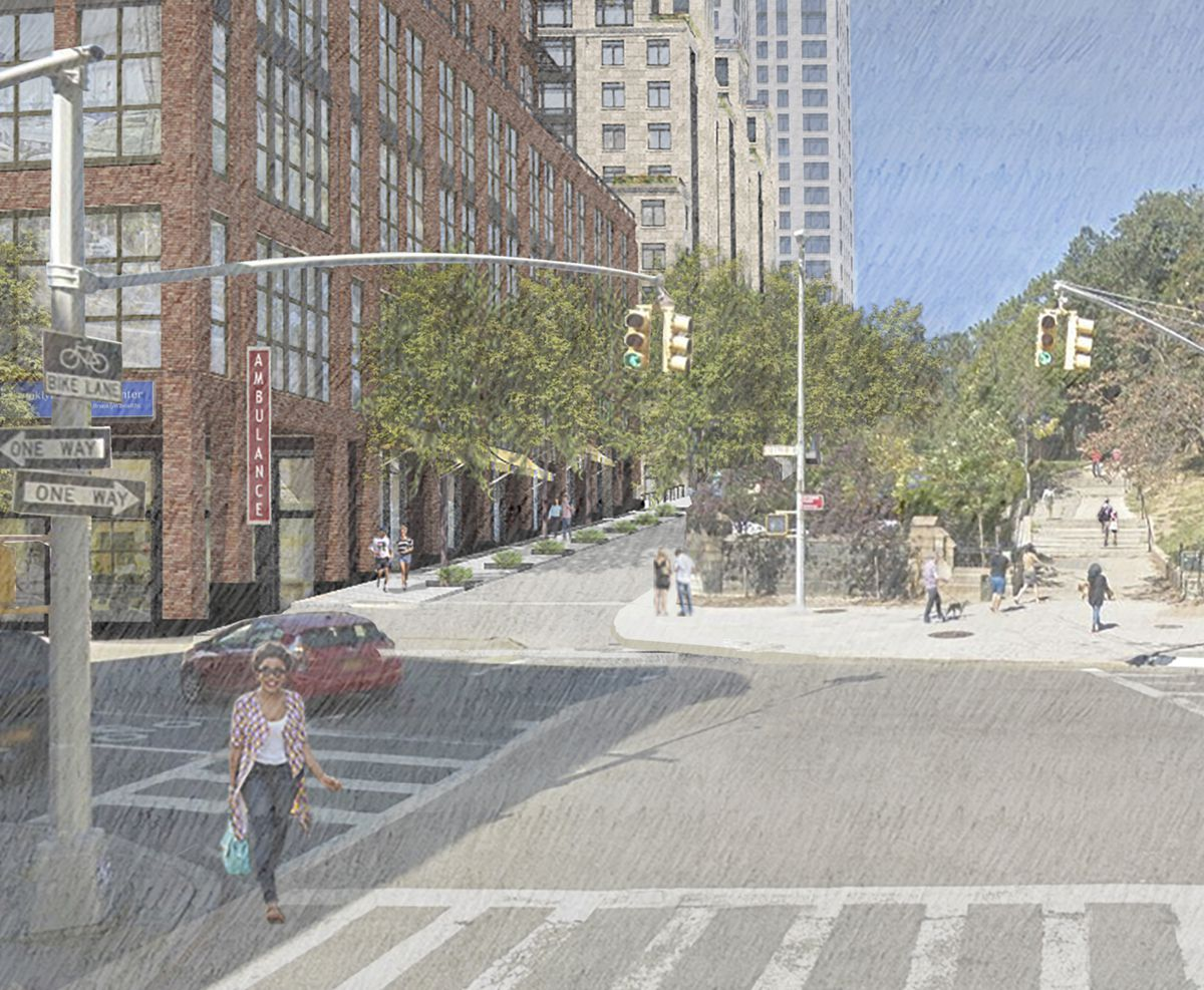 Conceptual rendering by Robert A.M. Stern Architects, LLP.