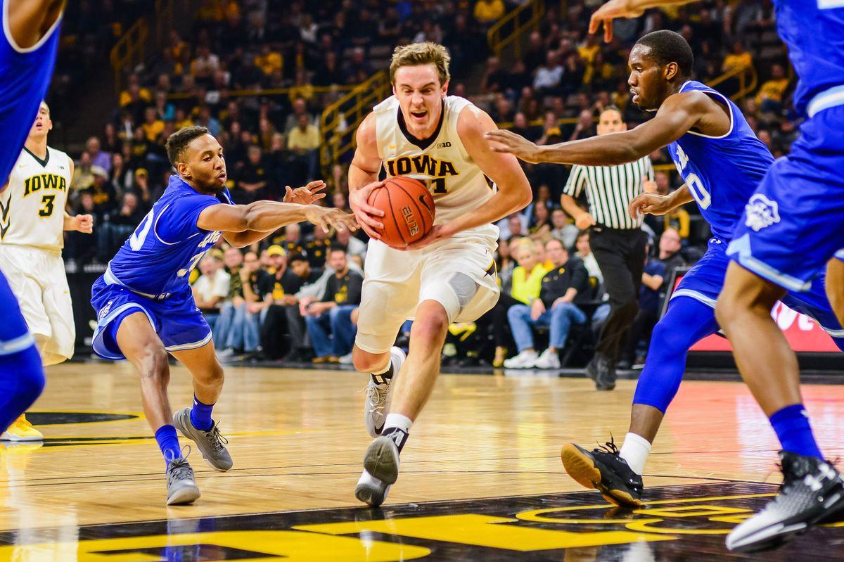 NCAA Basketball: Seton Hall at Iowa
