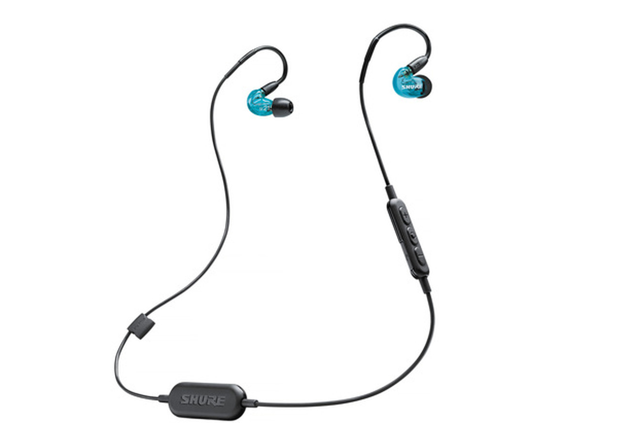 7dad1a322e3 Shure just announced two new models of Bluetooth wireless earphones. The  $150 SE215 and $100 SE112 each deliver deep bass and sound isolation, ...
