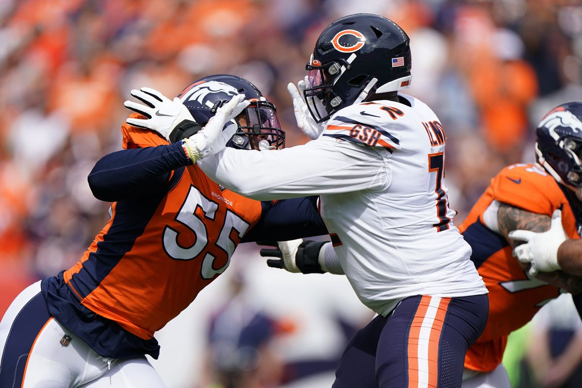 Bears' offensive line holds steady 'no matter what the hell happens'