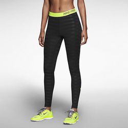 """To keep her legs as warm as her upper body, Caroline likes Nike's training tights. <i>Nike Pro Hyperwarm Embossed Training Tights, $55 at <a href=""""http://store.nike.com/us/en_us/pd/pro-hyperwarm-embossed-training-tights/pid-1536296/pgid-1536301"""">Nike</a><"""