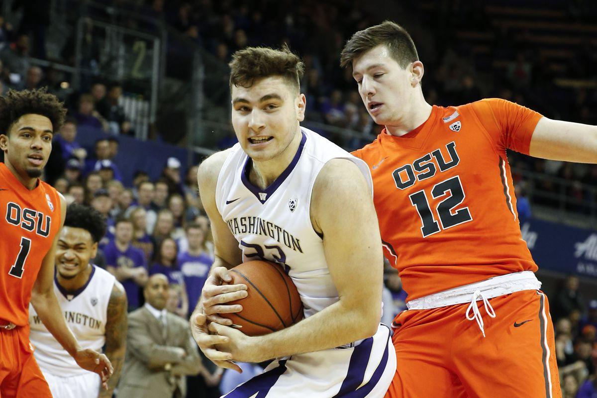 NCAA Basketball: Oregon State at Washington