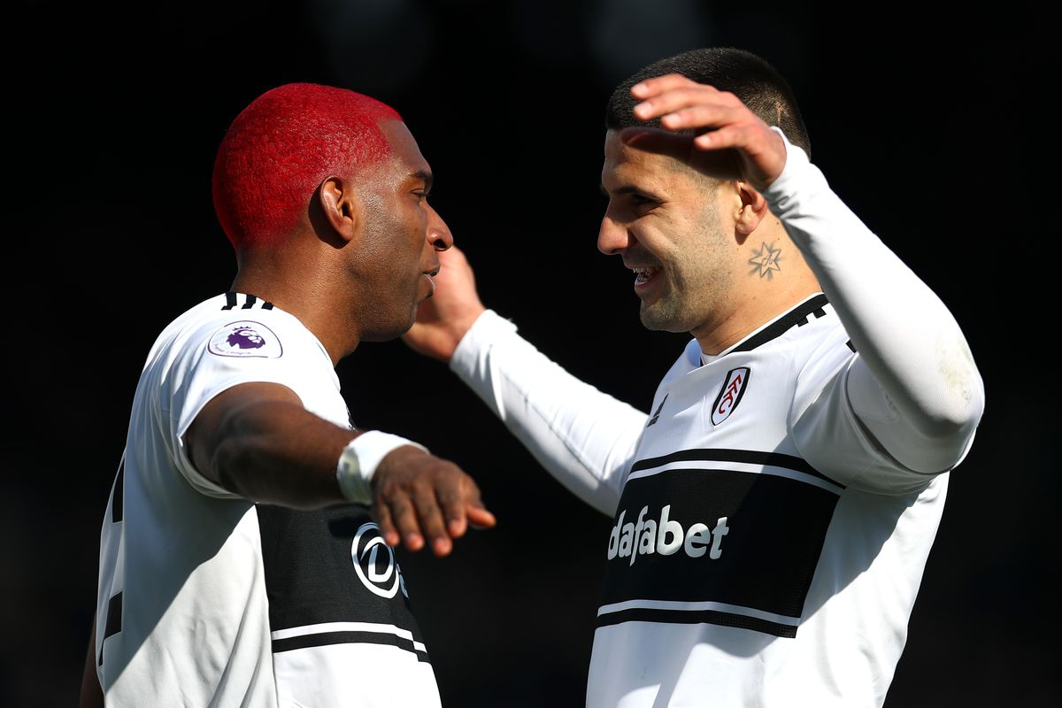 Ryan Babel & Aleksandar Mitrovic - Fulham FC - Premier League
