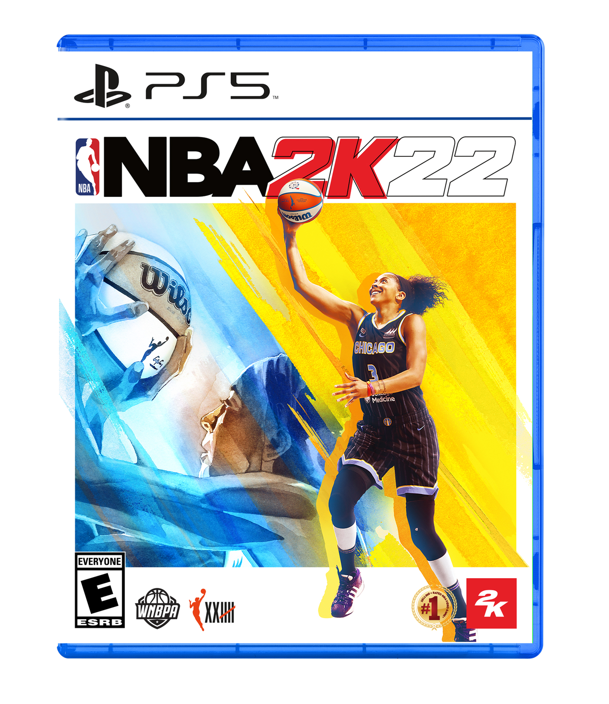 Candace Parker will be the first WNBA star for the NBA 2K22 cover.