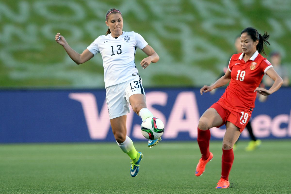 Alex Morgan and the USWNT will look to take one more step toward a potential 3rd World Cup title for the United States.
