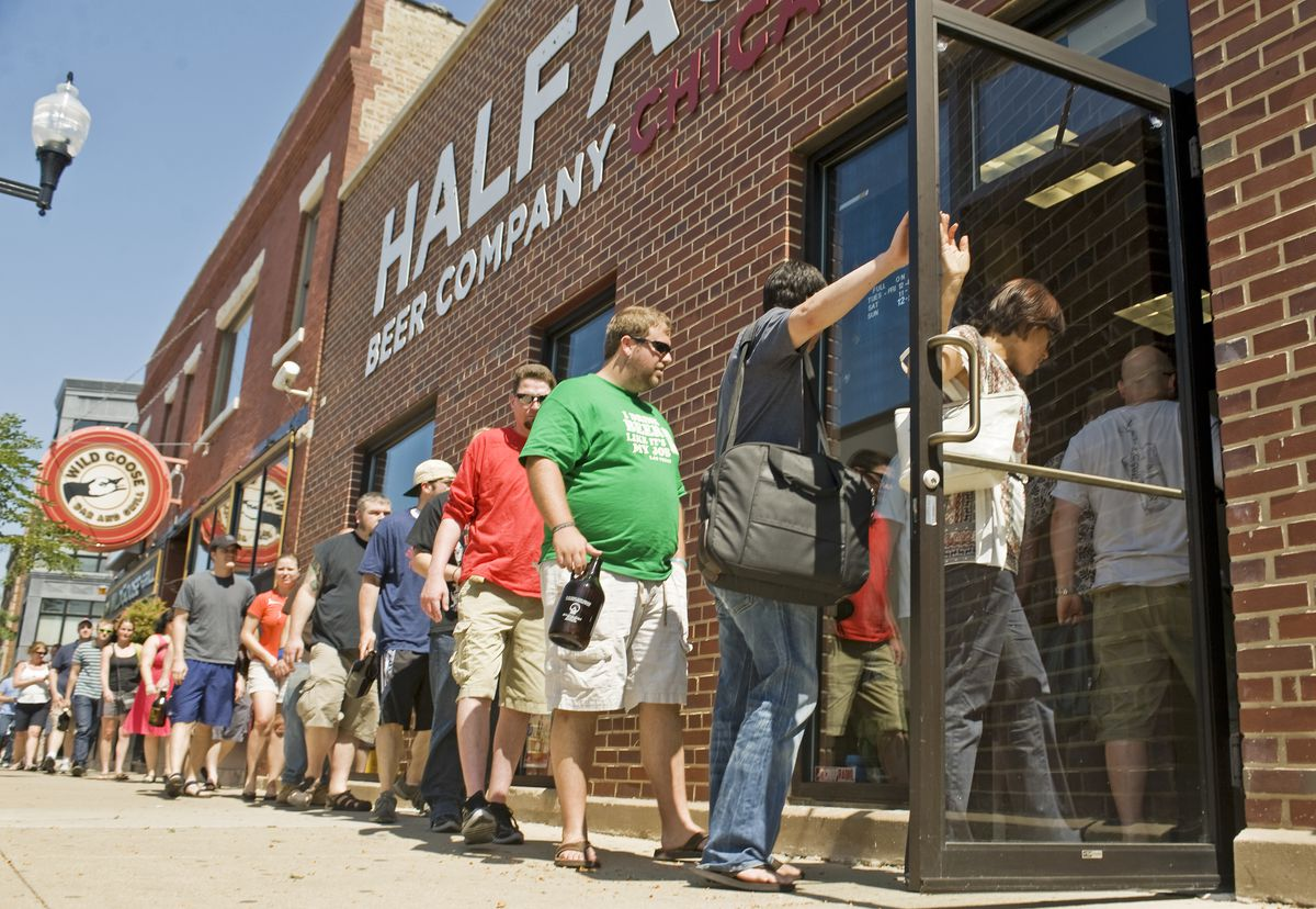 The Half Acre Beer Co., 4257 N. Lincoln ave. | Rich Hein~Sun-Times