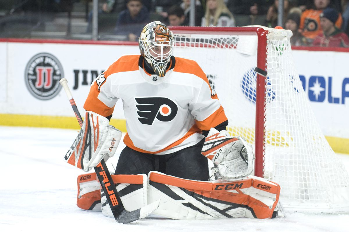 big sale 74121 435bb Flyers trade Anthony Stolarz to Edmonton, acquire Cam Talbot ...