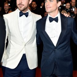 Ryan Gosling and Matt Bomer at the premiere of 'The Nice Guys.'