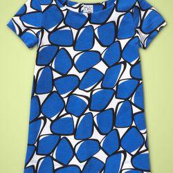 DVF Toddler Girl T-Shirt Dress, Strong Blue $40