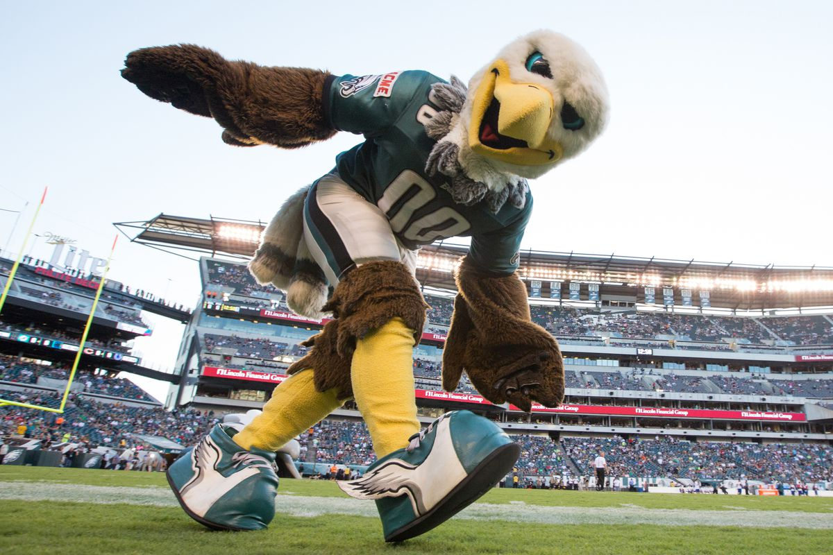 Swoop the Eagle flies into town this Monday Night as the Bears host the Eagles