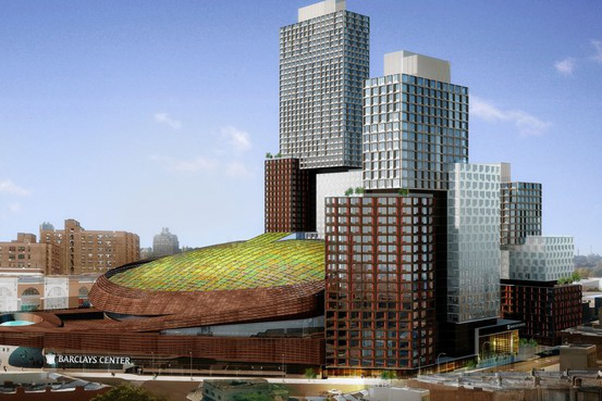 Installing green roof, ironworker dies at Barclays Center - NetsDaily