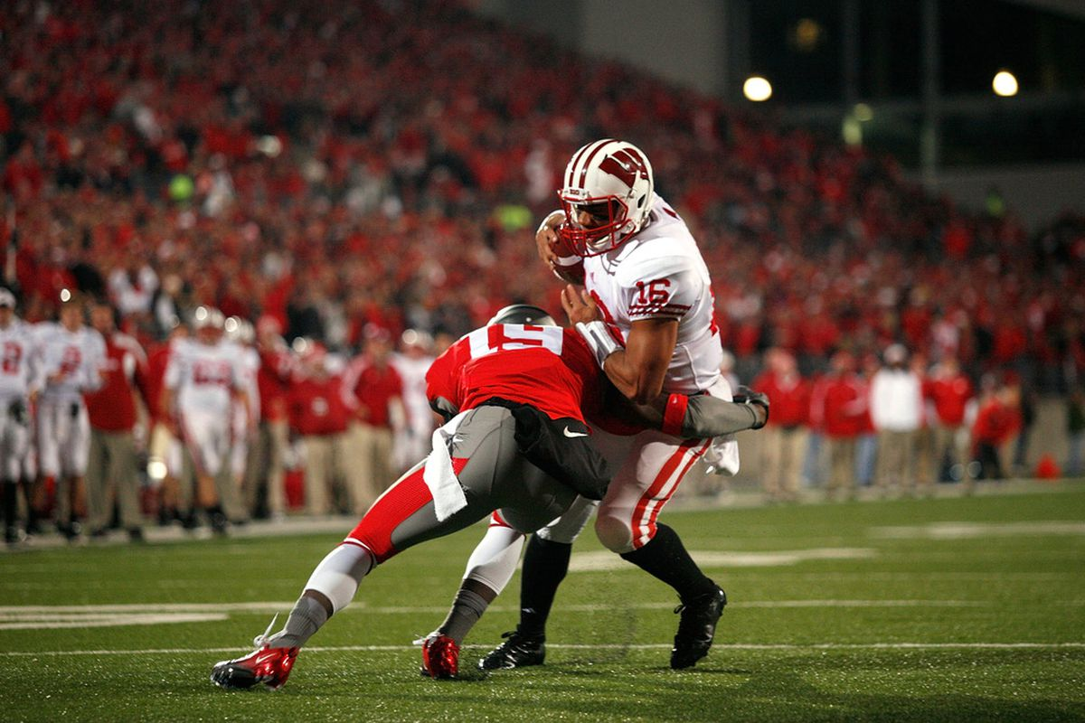 Winning on the road in the Big Ten: it's tough.