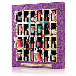 """Guarantee a treat-filled December with the """"Countdown to Love"""" advent calendar from <b>Benefit</b>, boasting minis of 24 cult-favorite products for <a href=""""http://www.benefitcosmetics.com/product/view/countdown-to-love"""">$68</a>. The box barely needs any"""