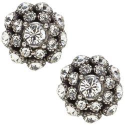 "<b>Kate Spade</b> Putting on the Ritz studs in clear/antique silver, <a href=""http://www.katespade.com/designer-jewelry/designer-earrings/kate-spade-putting-on-the-ritz-studs/WBRU3998,default,pd.html?dwvar_WBRU3998_color=977&start=32&cgid=jewelry-earrings"