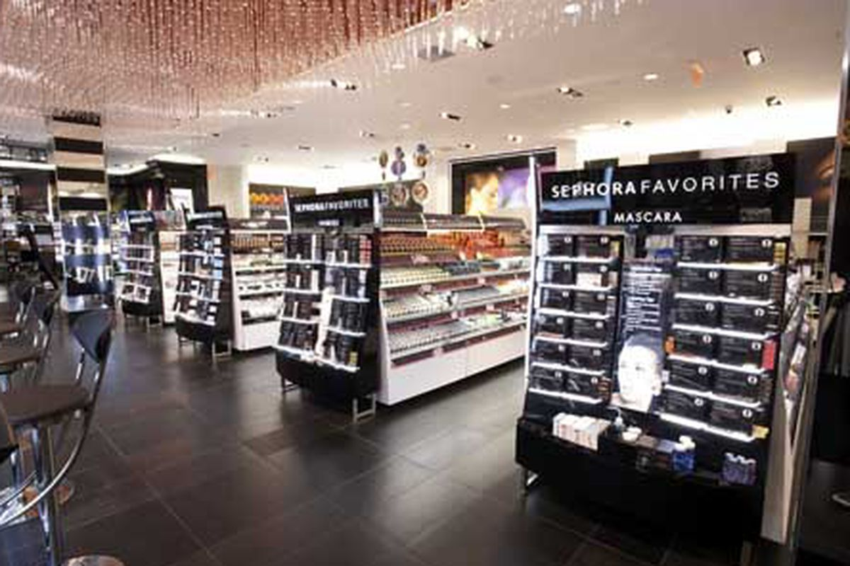 Expect the Culver City Sephora to look something like this. Photo via Sephora.
