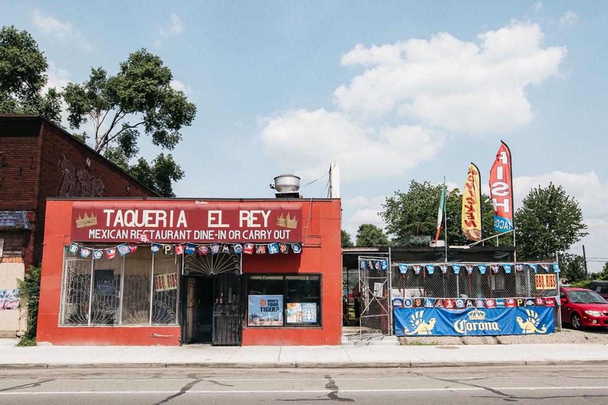 Taqueria El Rey.