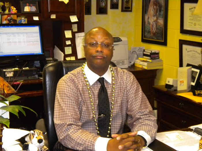 Vincent Hunter, principal of Whitehaven High School