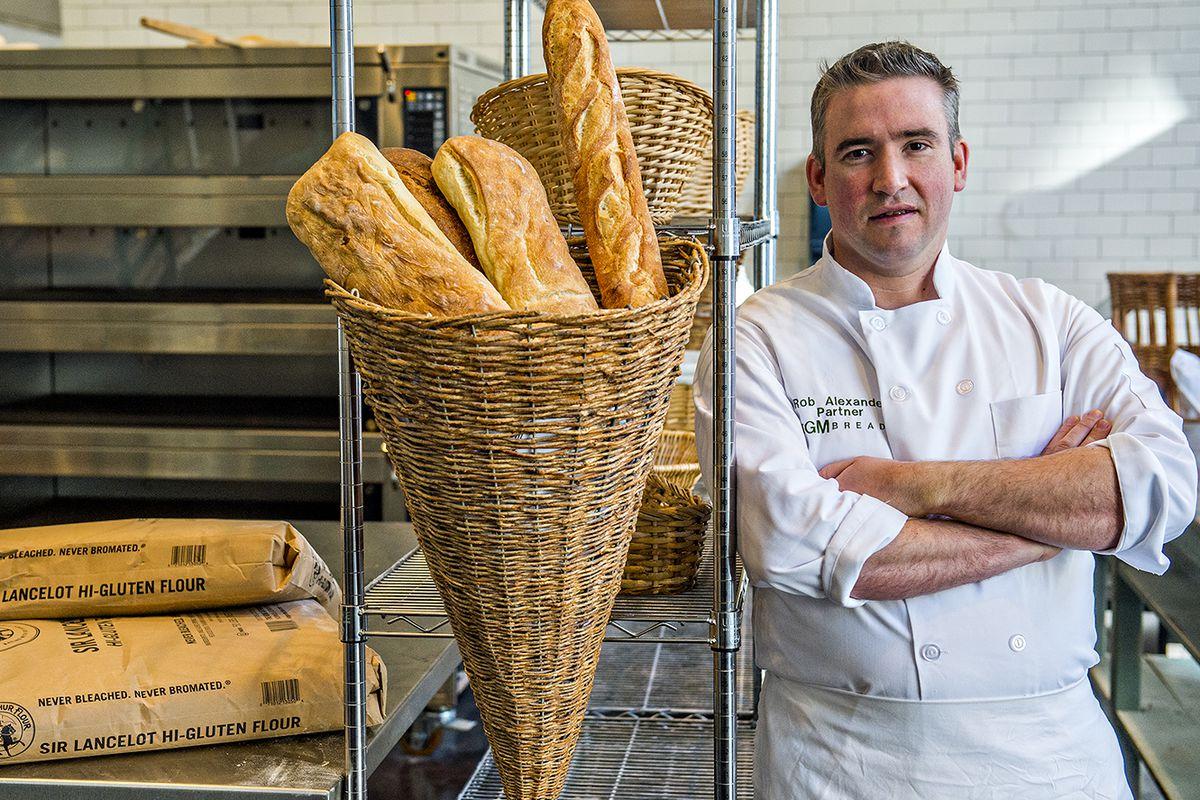 Rob Alexander at TGM Bread.