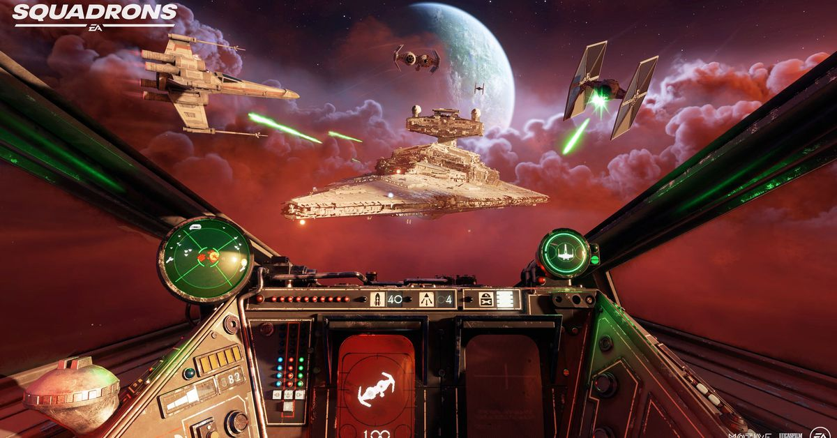 Star Wars: Squadrons is chaotic, exhilarating, and very difficult