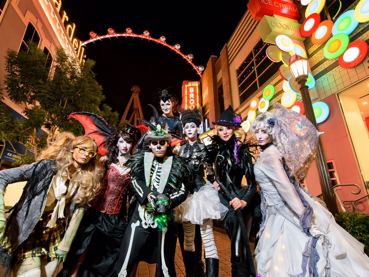 a monster guide to halloween 2018 in las vegas