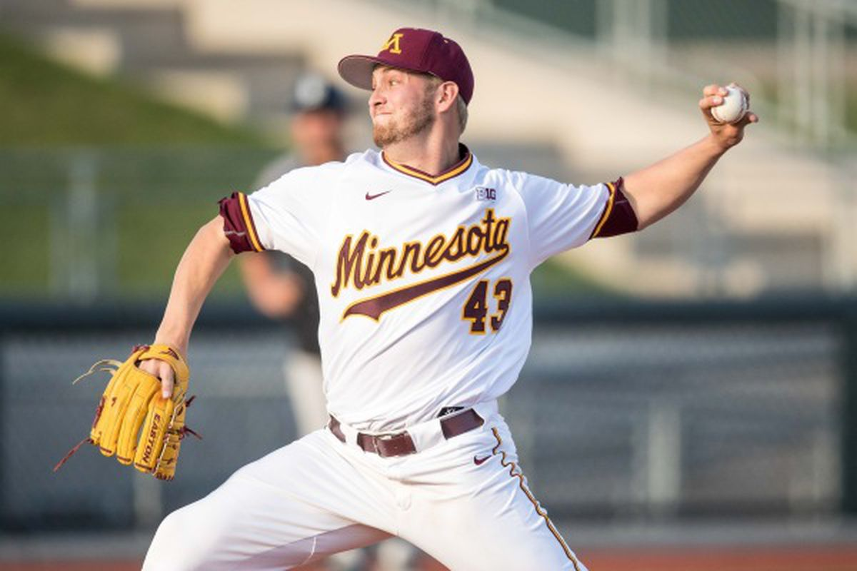 new styles 8d0c2 5897d Minnesota Baseball: Lucas Gilbreath Drafted by the Colorado ...