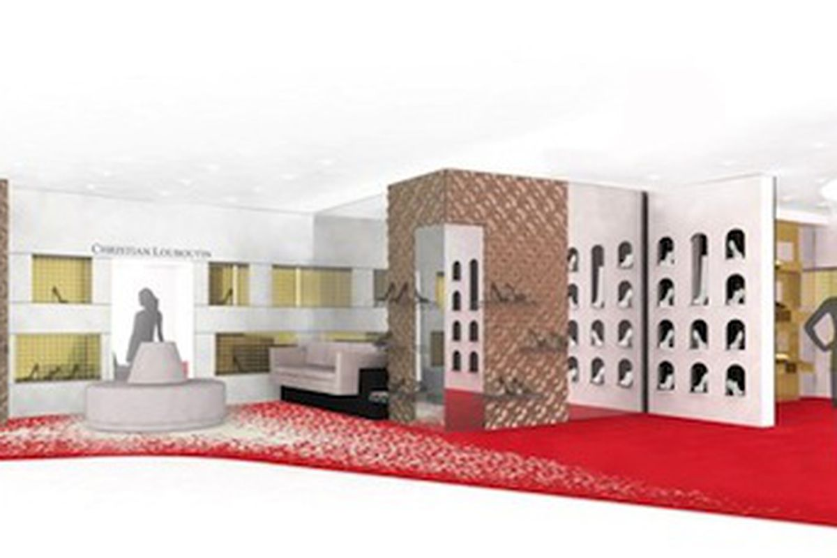80d0dab57b0 Saks Is Opening the World s Biggest Louboutin Shop-in-Shop - Racked NY