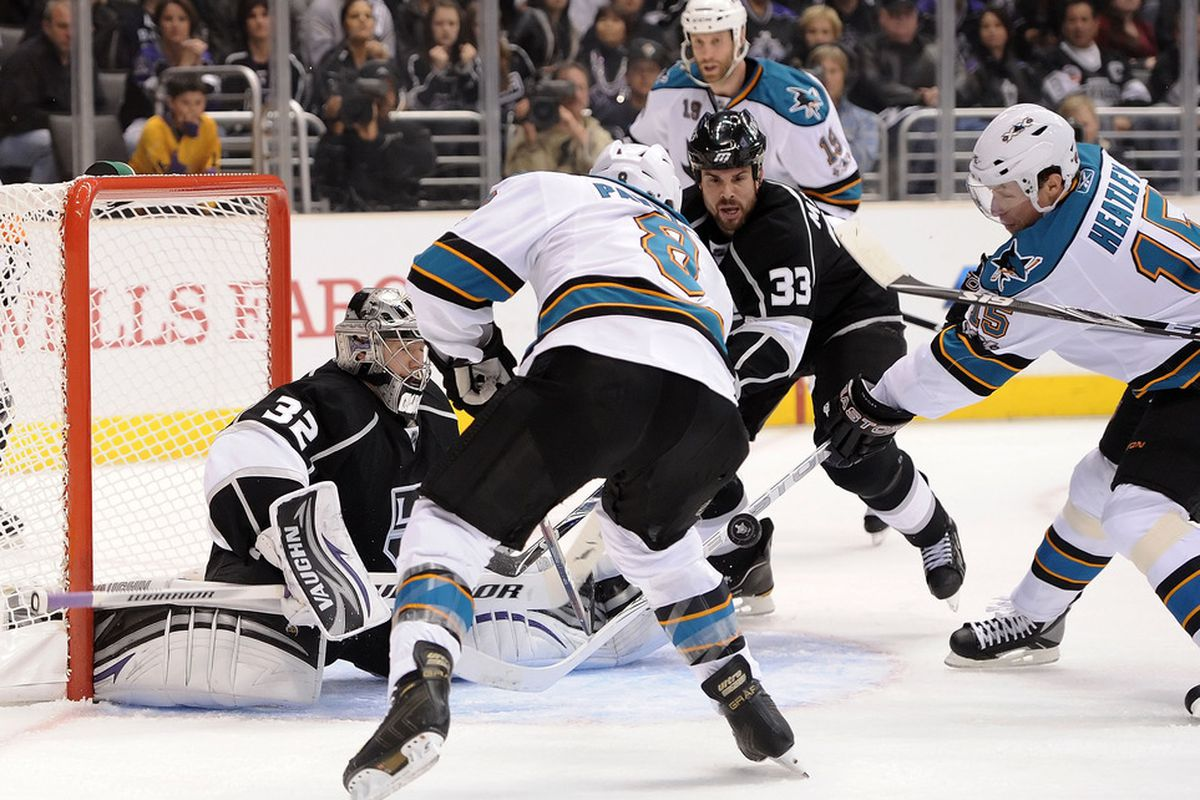 San Jose is my country, the Sharks are my brethren, and to score goals is my religion.