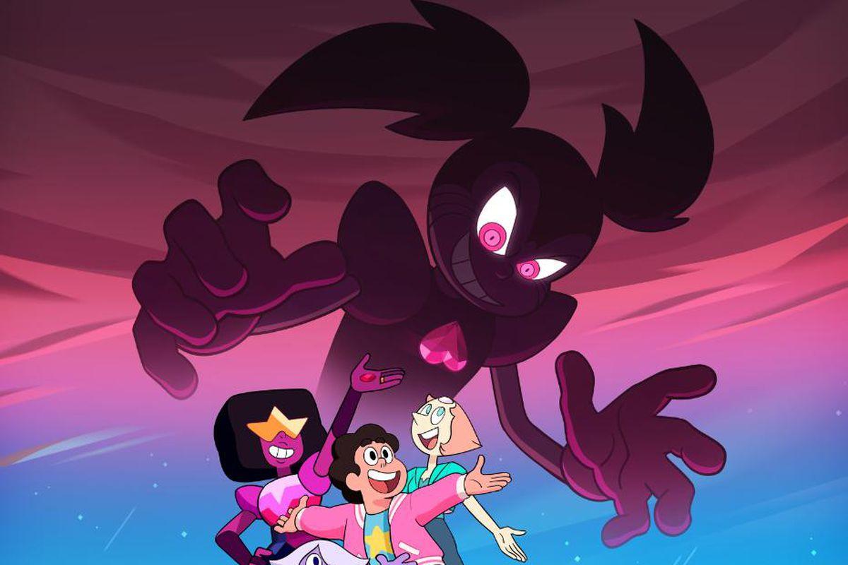 Steven Universe movie poster reveals giant, heart-themed villain