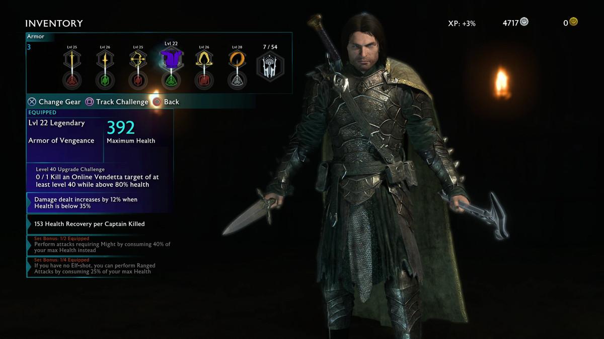 Shadow Of Mordor Customization