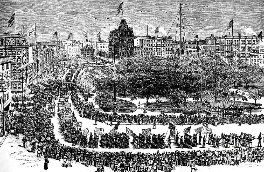 Labor Day, 1882