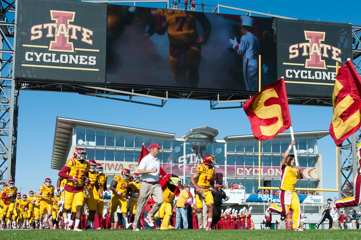 Sources Confirm New Iowa State Football Entrance Music Wide