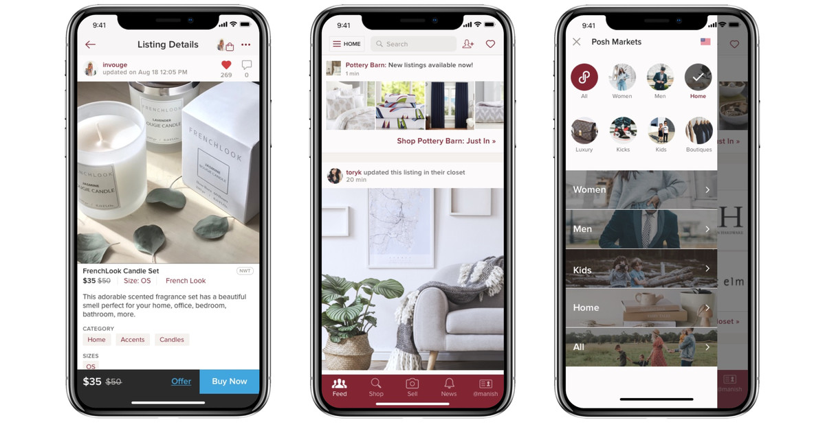 Poshmark is Moving Beyond Fashion to Sell Home Goods