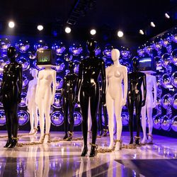 """Janelle Monae's """"What's Your Frequency?"""" — an installation that takes a look at mass surveillance. 