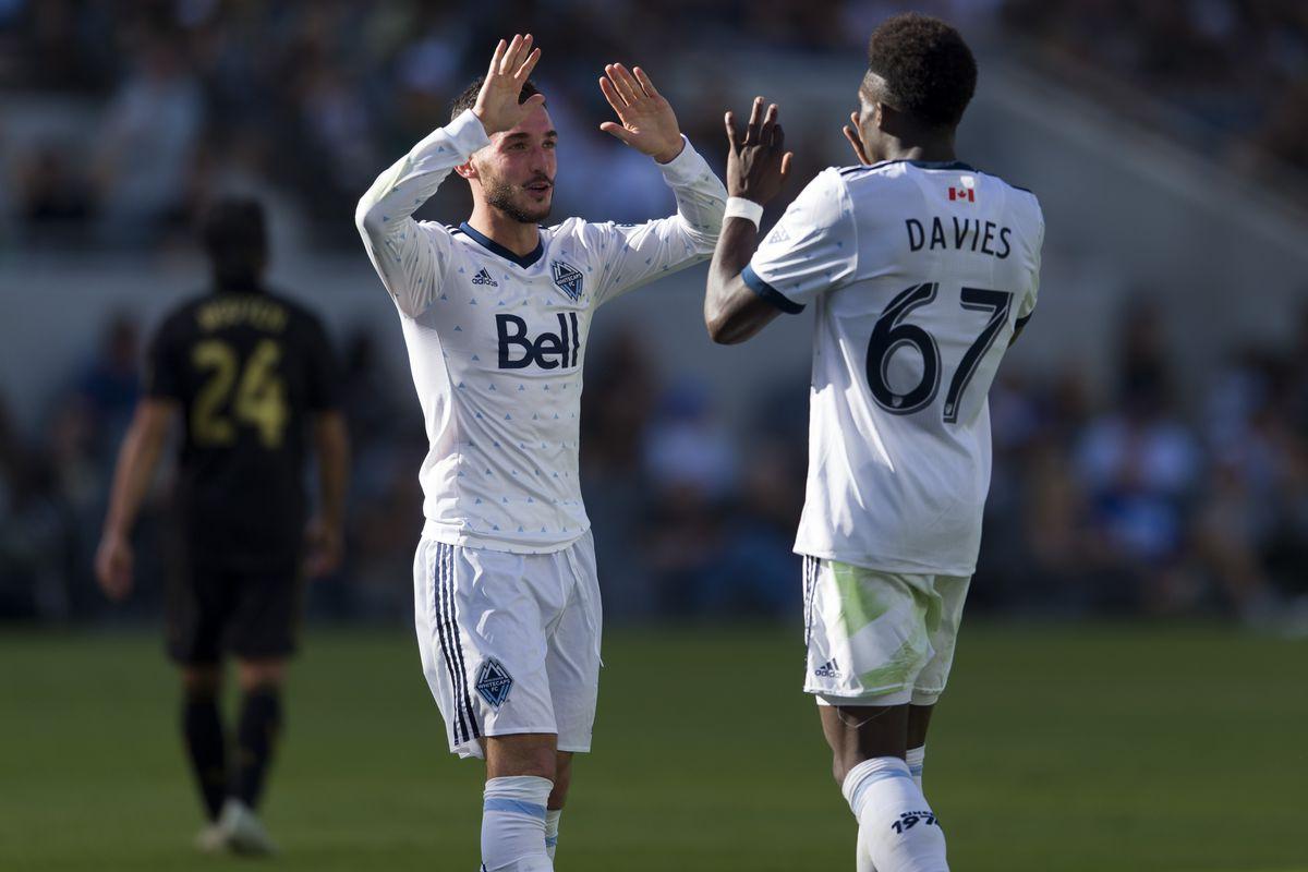 MLS: Vancouver Whitecaps at Los Angeles FC
