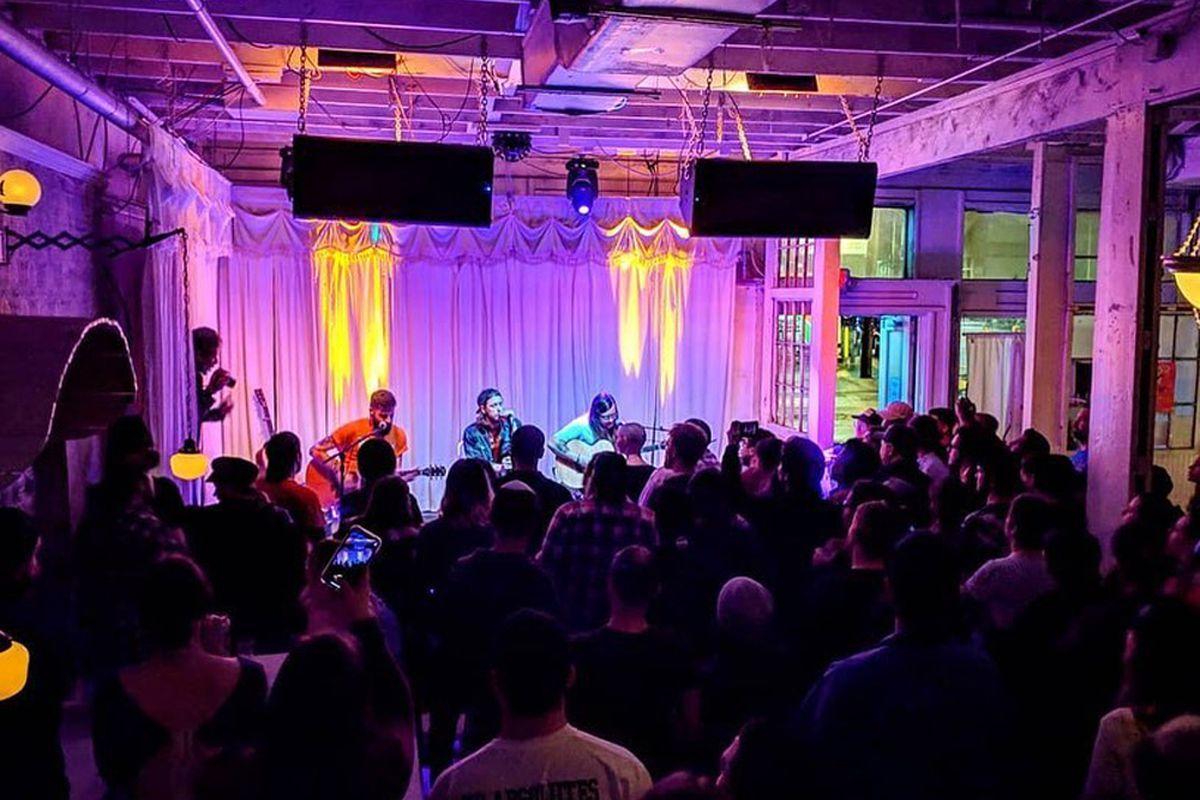 The original Swan Dive music venue in Austin, TX, expanding to the Arts District in Las Vegas.