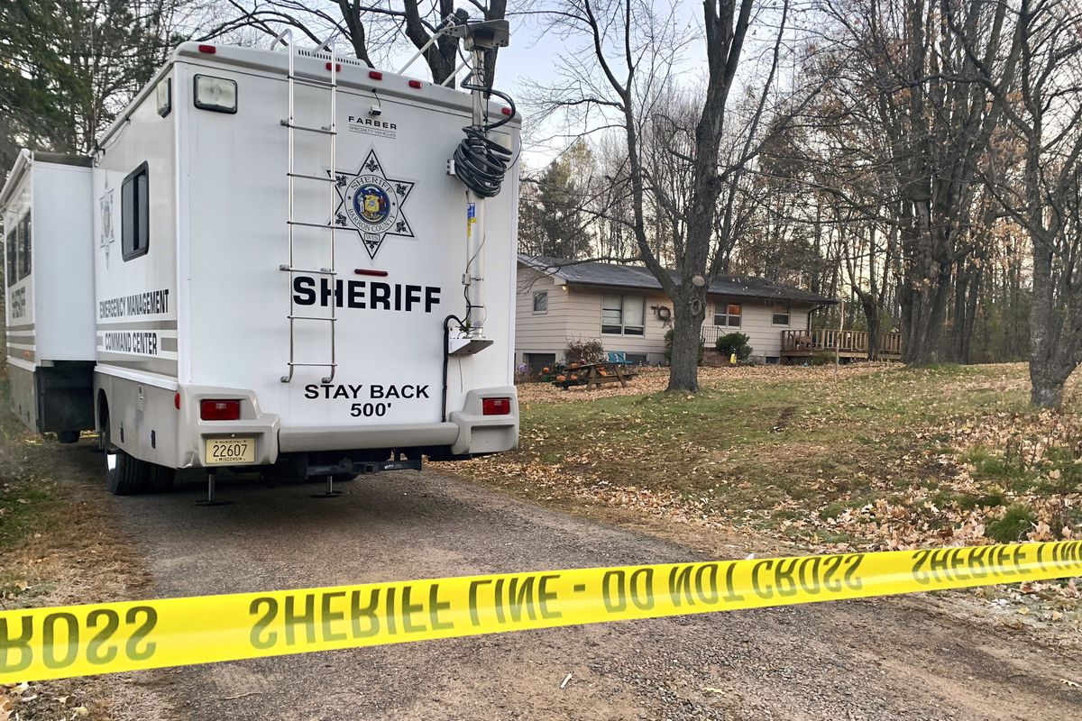 The home where Jayme Closs lived with her parents in Barron, Wisconsin, after she went missing and her parents were found dead in October 2018.