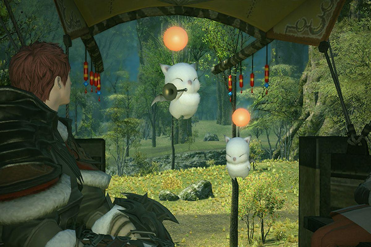 Moogles from Final Fantasy 14