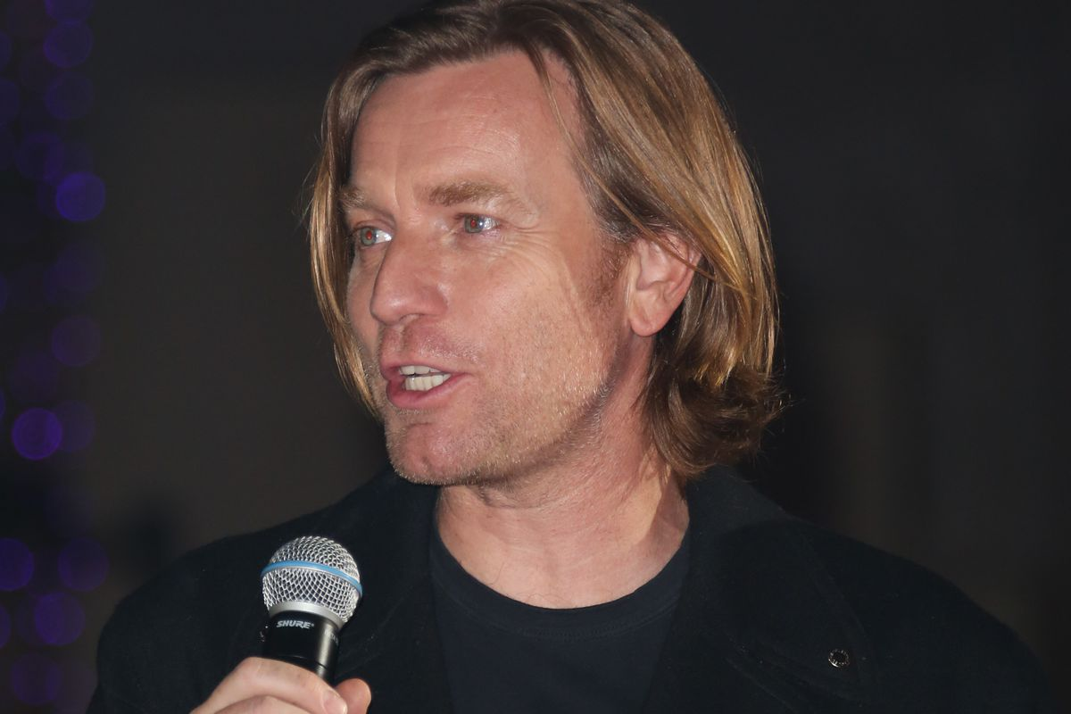 """Ewan McGregor attends the premiere of """"Birds Of Prey"""" at Hollywood and Highland in January."""