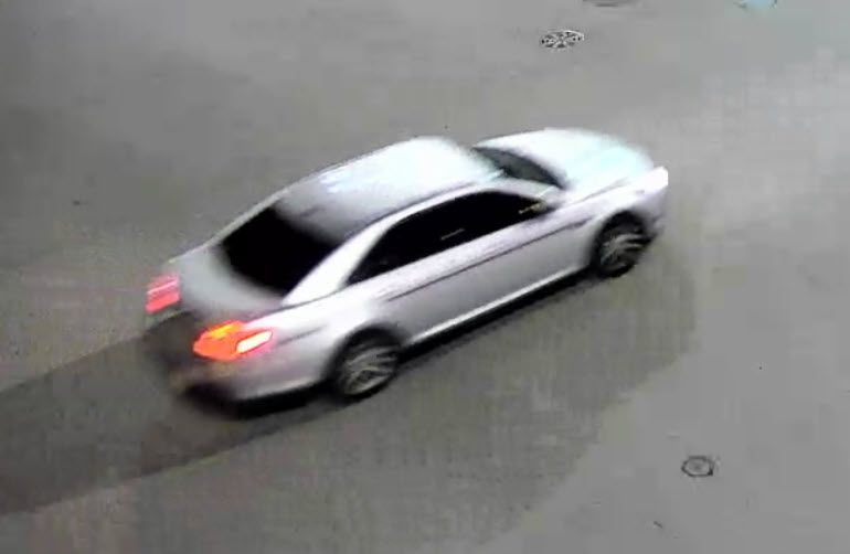 Police say two suspect drove away in this car from a Sept. 12, 2020, murder in River West.