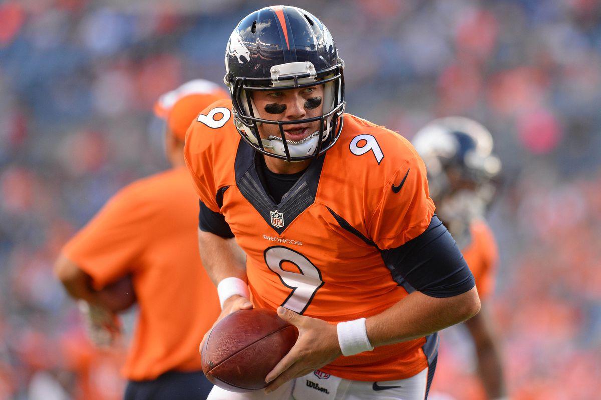 Former Denver Broncos QB Bryn Renner