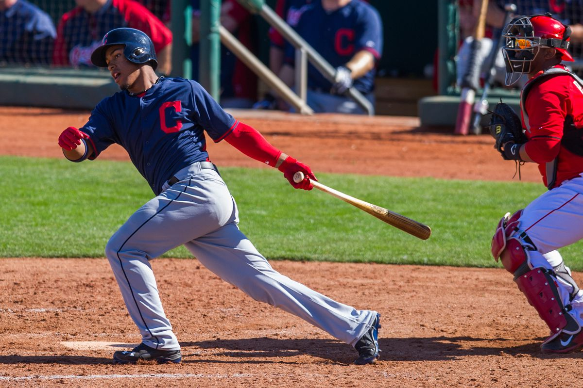 Francisco Lindor brought the boom stick with a three-run home run in his only trip to the plate.