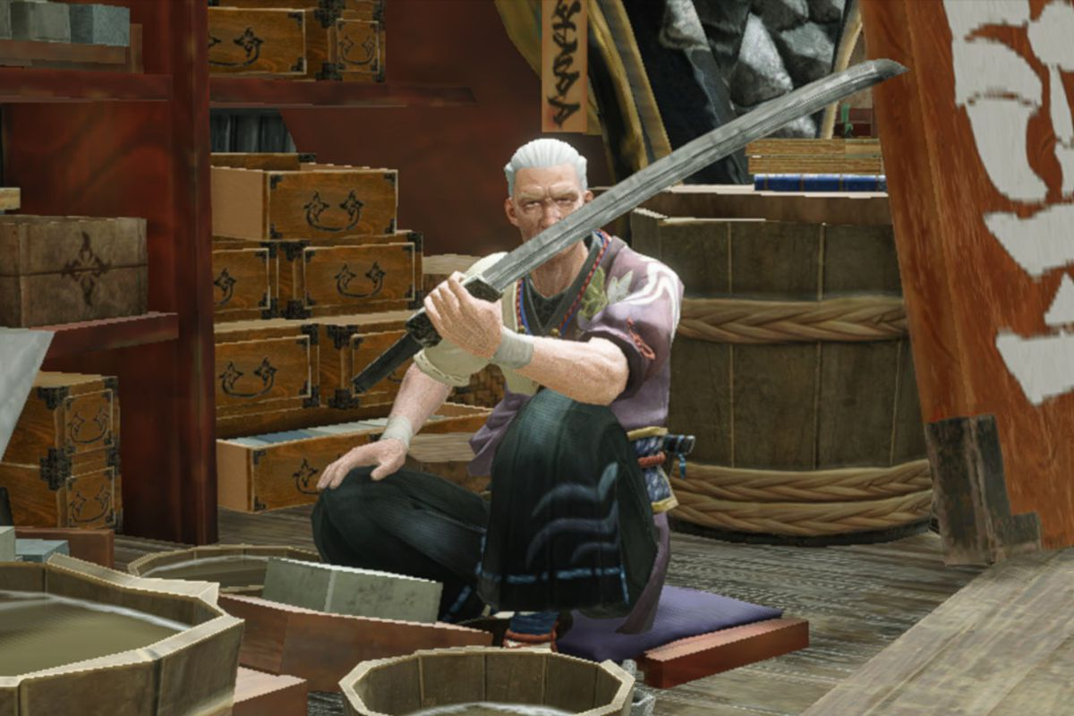 The Smithy from Monster Hunter Rise