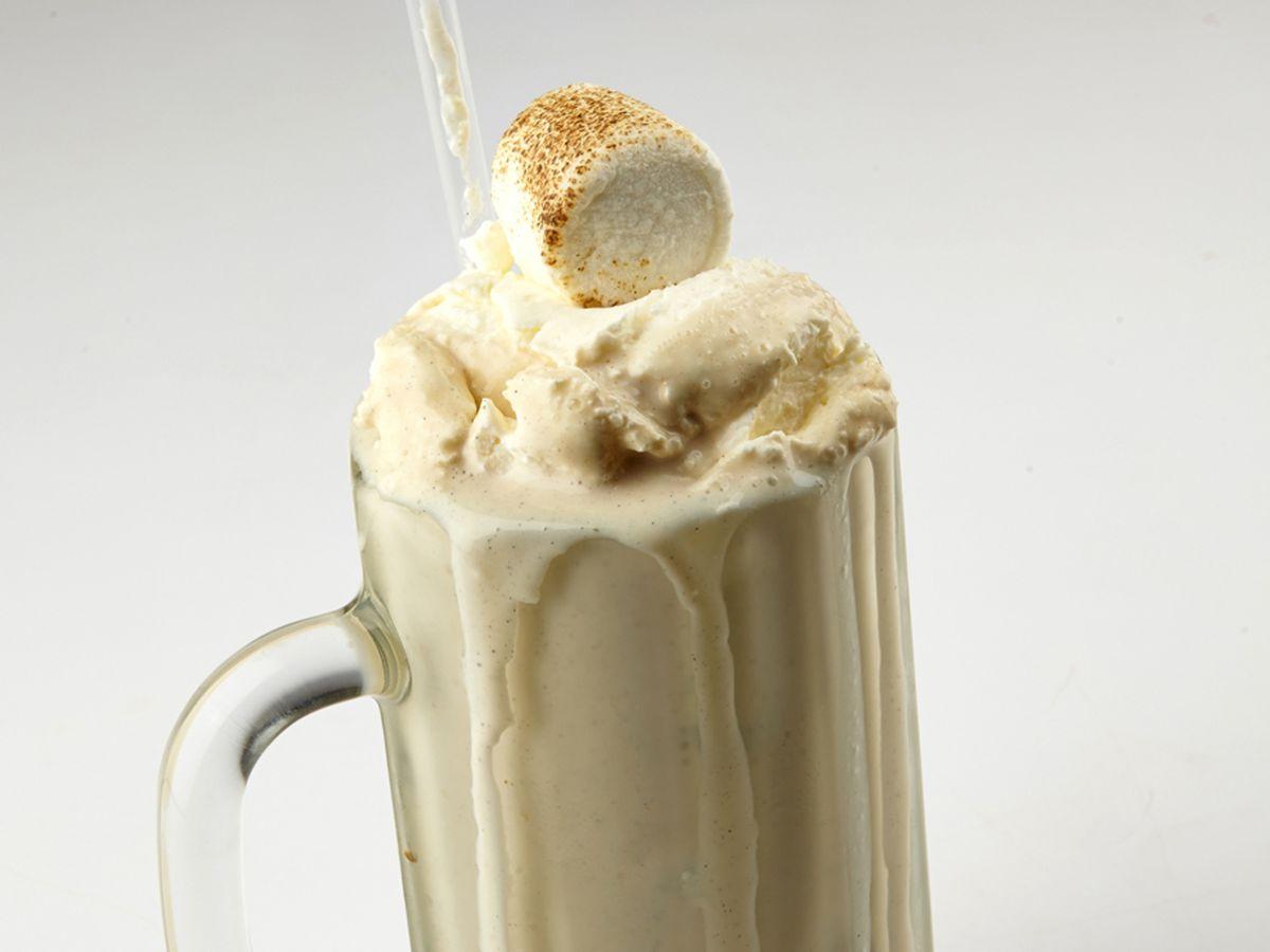 The famous marshmallow milkshake at Good Stuff Eatery