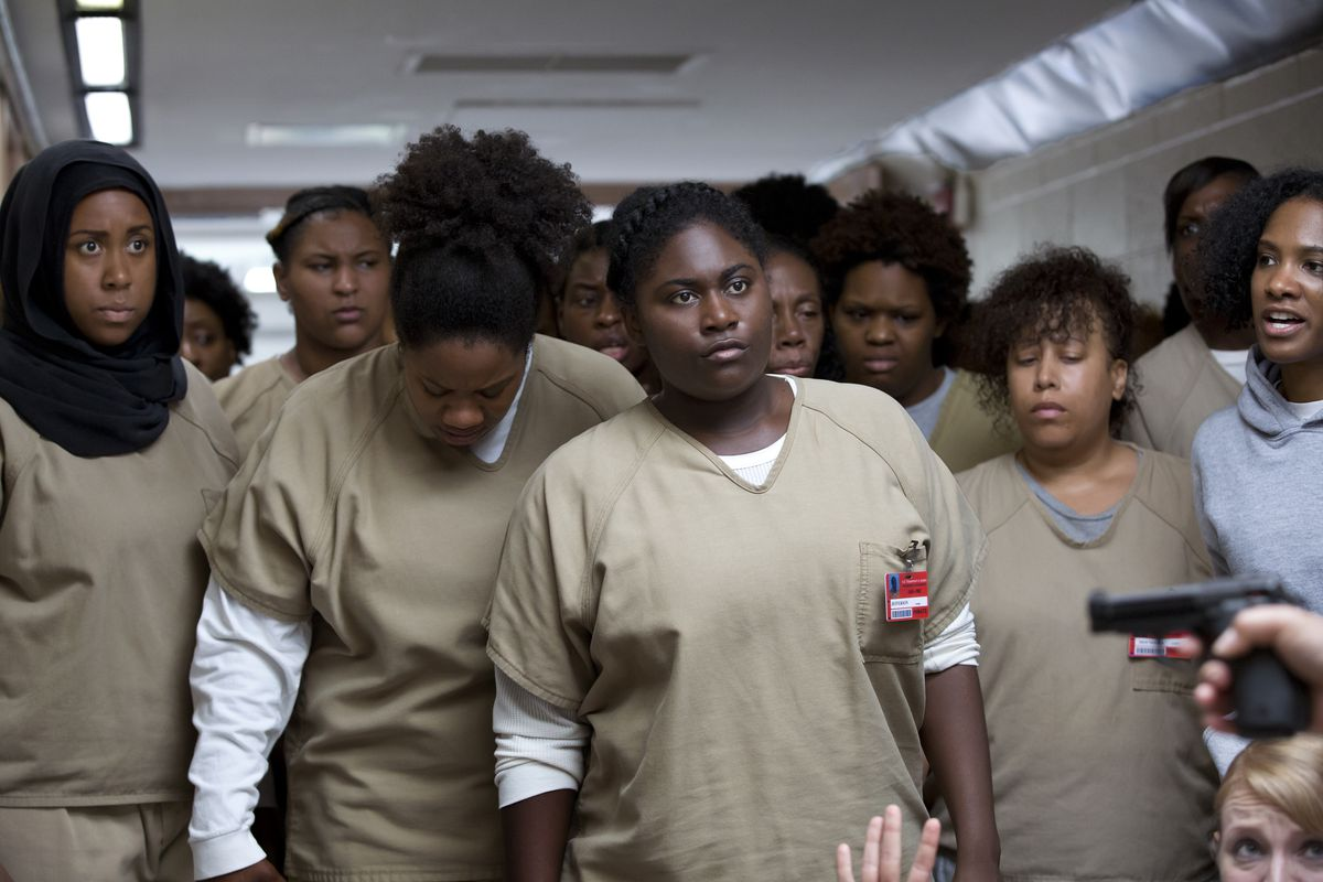 Orange Is the New Black starred many actors of color.