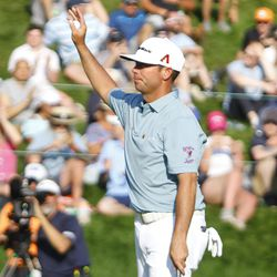 The 2019 Travelers Championship Fourth Round at the TPC River Highlands in Cromwell, CT on June 23, 2019.