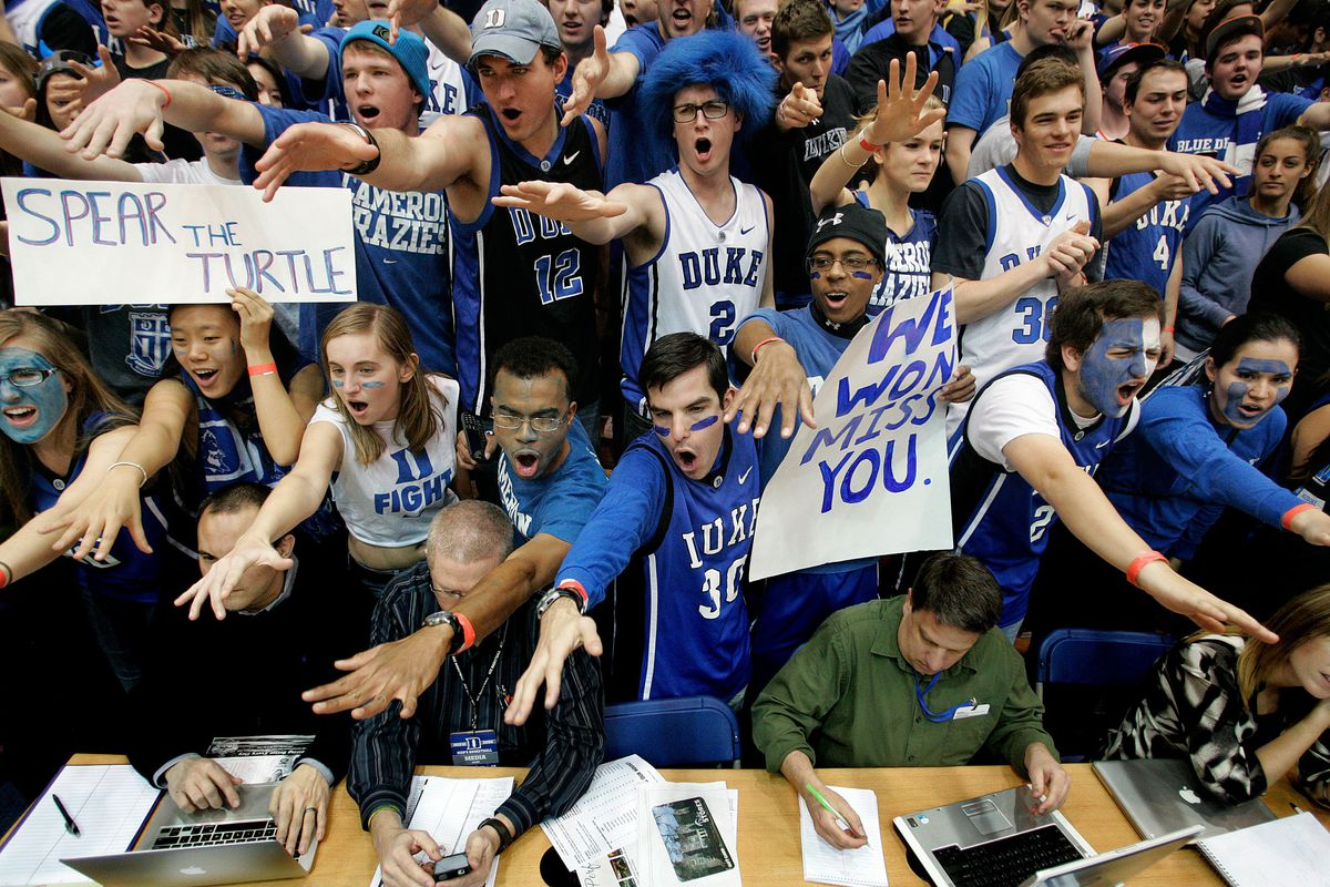 On the bright side, at least we never have to see these folks again. We won't miss you and your cheer sheets, either.