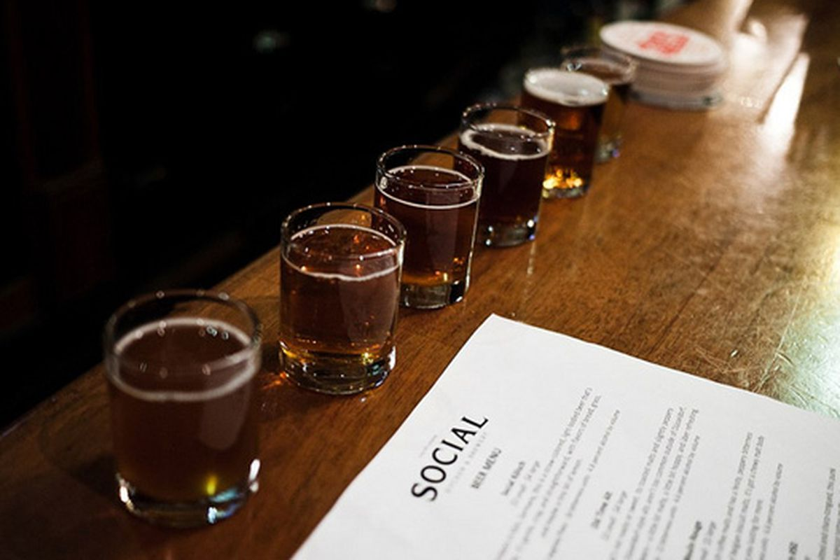 Social Kitchen & Brewery.