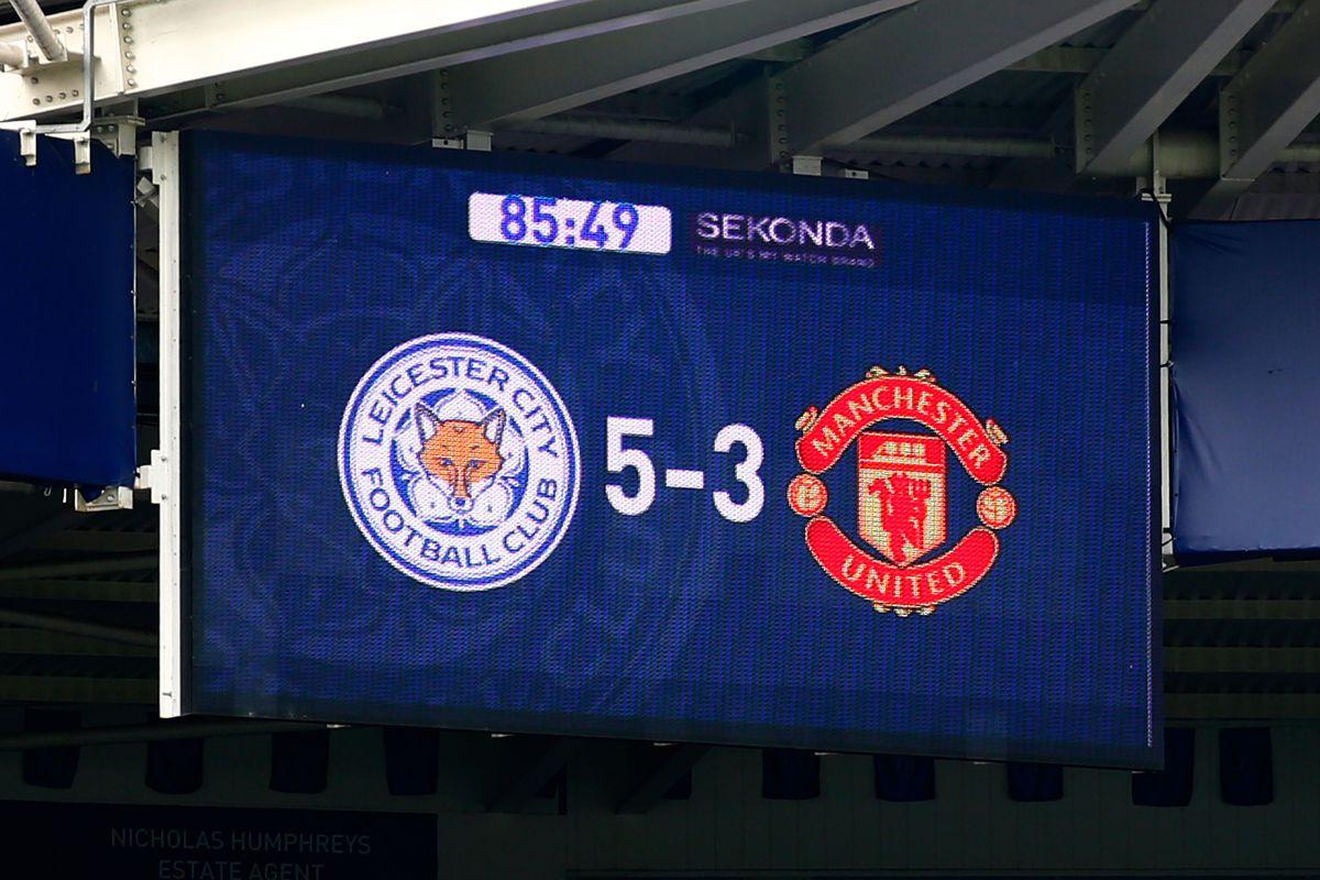 Leicester City v Manchester United - Premier League