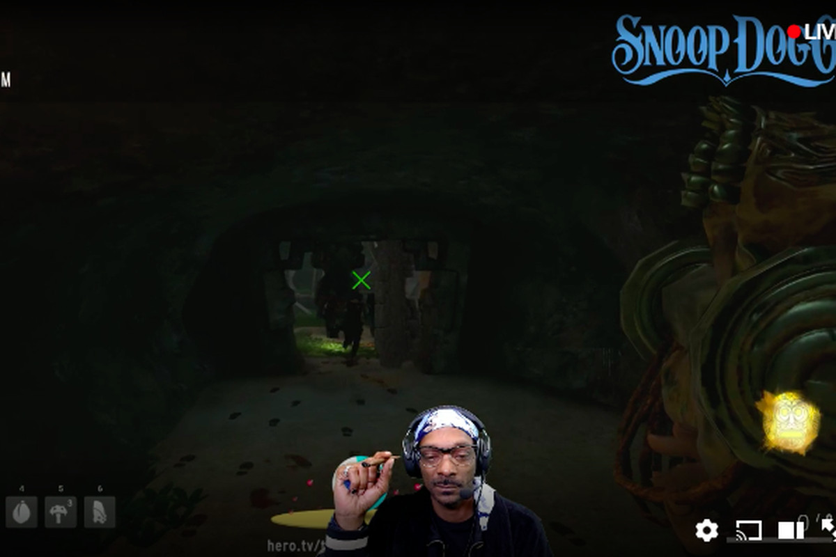 Snoop Dogg is smoking a blunt on Twitch, won't be banned